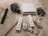 Nintendo Wii and 3 games