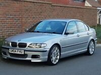 Bmw 330d M Sport Saloon (2004/04) + 204 BHP + Rare 6 Speed Manual Gearbox + Genuine M SPORT + FSH +