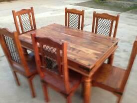Solid Sheesham Jali Table