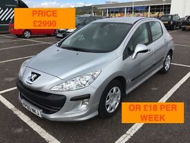 2010 PEUGEOT 308 S HDI / NEW MOT / PX WELCOME / FINANCE AVAILABLE / £30 TAX / HISTORY / WE DELIVER