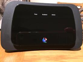 BT Home hub 3 and power cable