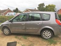 Renault Grand Senic, Grey, 7 Seater Great Family Car