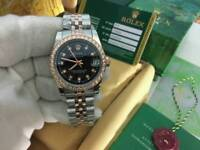 LADIES Rolex Datejust diamond bezel