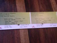 Alison Moyet concert tickets x2