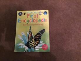 Children Books Oxford First Encyclopedia
