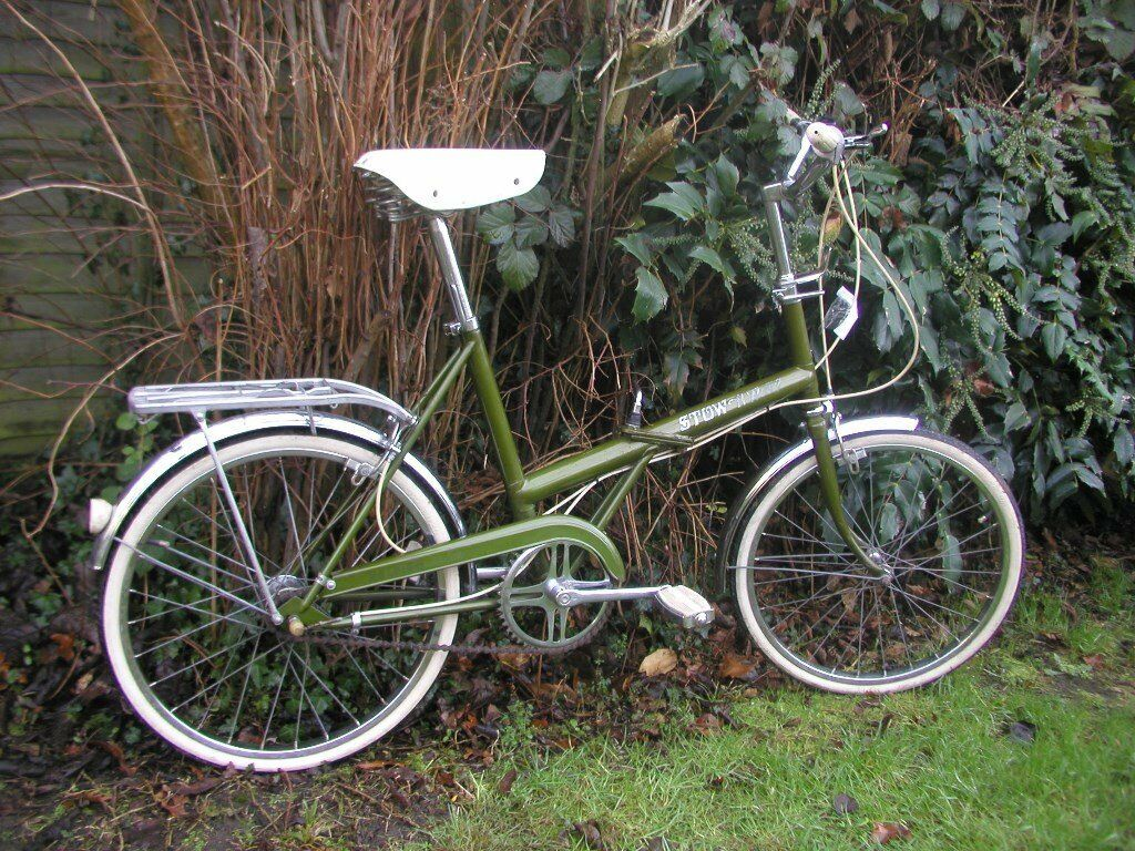 Raleigh Stowaway Vintage Folding Bike 1976 Immaculate In