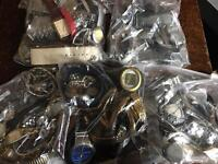 Assortment watches spares and repair