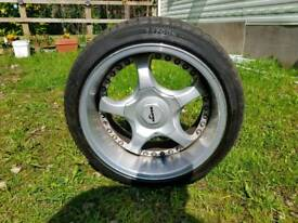 2x Tyfoon successor 215 40 16 86W used tyres nearly new