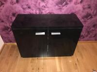 Black sideboard