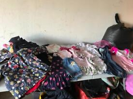 23 items of girls clothes 3-4 Years