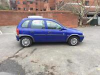 VAUXHALL CORSA CLUB 16V AUTOMATIC/ONLY 24K MILEAGE/£795