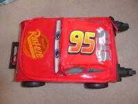 Disney Cars Wheelie Bag Suitcase for kids