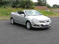 58 REG VAUXHALL ASTRA 1.6 TWIN TOP LOW MILEAGE 12 MONTHS M.O.T 6 MONTHS WARRANTY (FINANCE AVAILABLE)