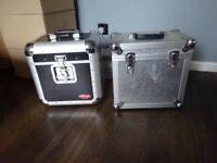 "2 x 12"" DJ Metal Record Storage Case"