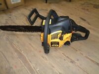 Mc couloch petrol chainsaw starts no problem good condition needs the chain sharpened bargain
