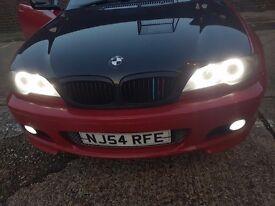 BMW E46 RED CONVERTIBLE M SPORT 318 2.0l