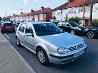 VW GOLF MK 4 MARK 4 1.6 PETROL NEW MOT VOLKSWAGEN GOLF