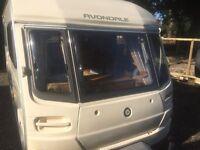 2004 2 berth cris reg caravan like new large sky light full awning no damp all the extras