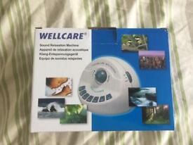 WellCare Sound Relaxation Machine noise maker
