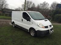 2003 Vauxhall vivaro swb 132k drives perfect recently had a clutch and full service