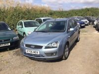 2006 FORD FOCUS ZETEC ALLOY WHEELS CD IN METALLIC BLUE GOOD DRIVER ANYTRIAL WELCOME PX CONSIDERED