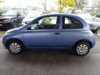 NISSAN MICRA 1.2 S 3d 80 BHP 2 Previous Keeper ++ Service Record MOT August 2018 ++