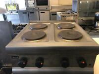 Commercial lincat hobs cooker catering red equipment hotels pubs cafe