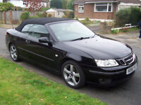 Saab 9-3 convertible for sale. 1.8 turbo 2006