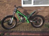 2011 Gasgas txt pro 300cc trials bike