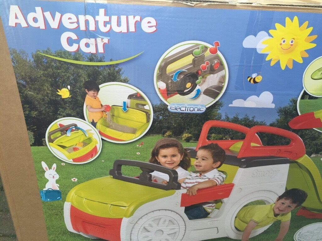 Smoby Adventure Car Playcentre In Leyland Lancashire