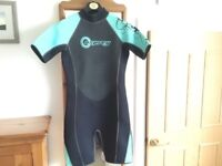 OSPREY WET SUIT. SIZE M. Worn twice, very good condition. £8