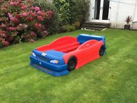 Children's formula one racing car bed