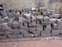 Thermal blocks. Rubble from garden.free to collect from barne barton.