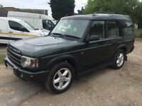 LAND ROVER 7 SEATER DISCOVERY 2002