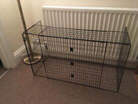 Extendable fire guard child safety from fire radiator or fish tank