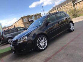 2008 FULLY LOADED BLACK MK5 VW GOLF 2.0 TDI GT SPORT 140 BHP 5 DOOR MANUAL