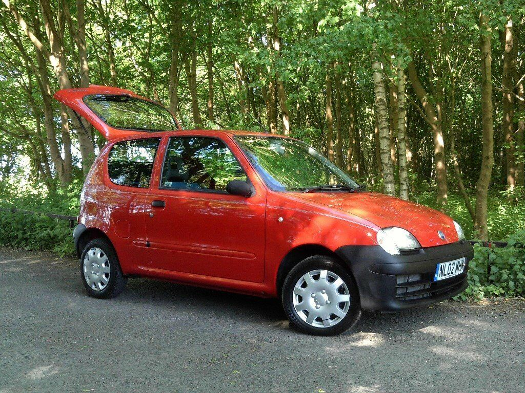 FIAT SEICENTO S 1.1 BRIGHT RED ONLY 35,400 MILES 2 OWNERS, MOT END FEBRUARY  2018