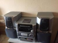 Aiwa stereo 5 disc changer need gone £40ono