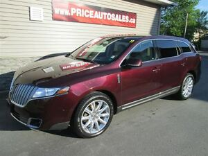 2011 Lincoln MKT HEATED/COOLED LEATHER-GLASS ROOF!!!