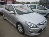 Hyundai I30 Edition CRDI,5 door hatchback,2 previous owners,full MOT,FSH,runs very well,£30 road tax
