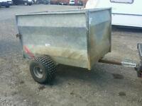 5x3 tfm quad trailer ideal for stables farm logs livestock etc