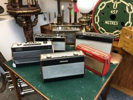 Collection Of Old radios