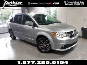 2017 Dodge Grand Caravan CVP/SXT 29P | LEATHER | STOW N GO | DVD