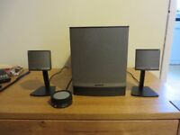 Bose companion 3 2.1 speakers
