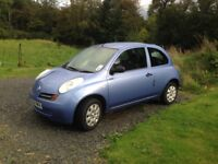 Micra Automatic, FSH, 2 owners (same family), 33K miles, GC