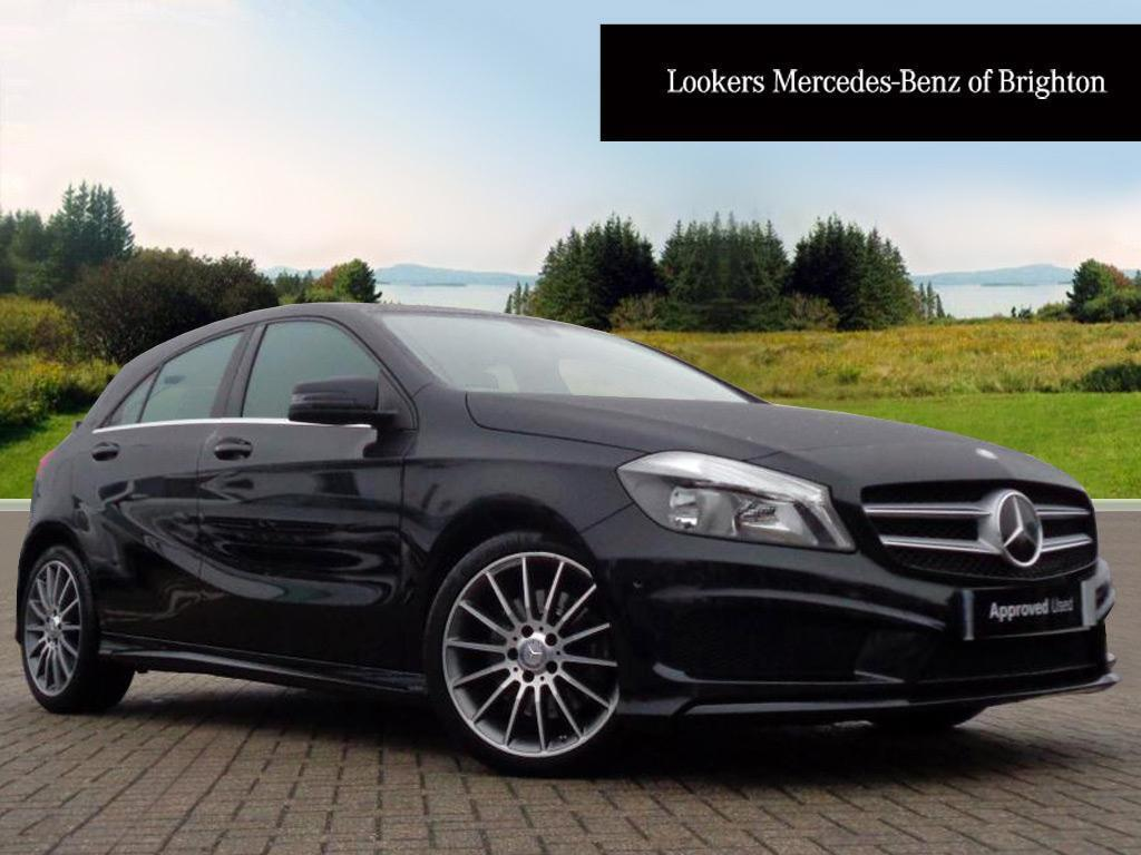 mercedes benz a class a220 cdi blueefficiency amg sport black 2015 06 16 in portslade east. Black Bedroom Furniture Sets. Home Design Ideas