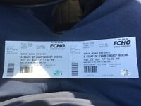 2 tickets Martin Murray vs rosando