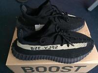 Adidas Yeezy 350 Boost V2 Black Olive Size 9