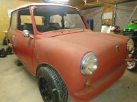 1991 Mini City Project, lots of spares including Engine, Gearbox, 1275cc MG Metro Engine & Gearbox