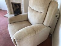 Electric orthopaedic armchair Comfy remte control